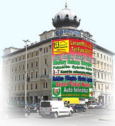 Reklámnyomtatás XV.kerület Palota reklamkep